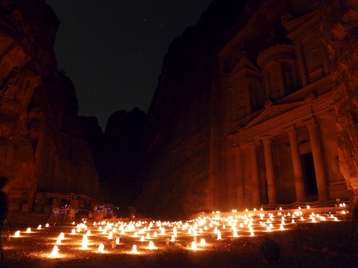 It's unclear whether Petra is directly referenced in the bible, but it's likely and this area features heavily given its place in the Promised Land
