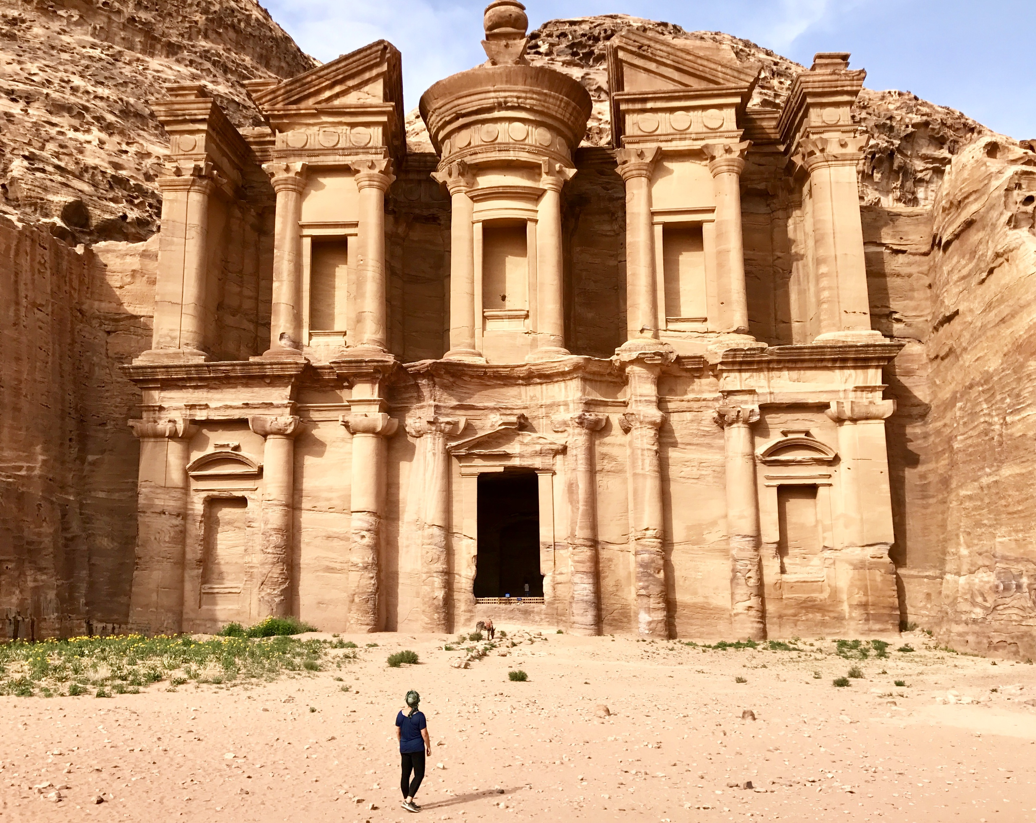 Petra's Monastery | It's unclear whether Petra is directly referenced in the bible, but it's likely and this area features heavily given its place in the Promised Land